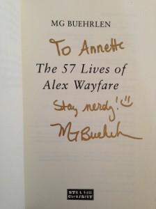 signature Alex Wayfare