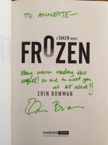 signature frozen