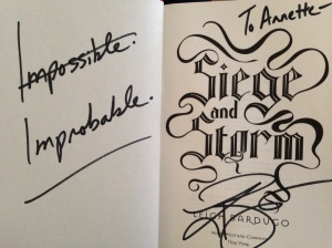"""Impossible. Improbable"""