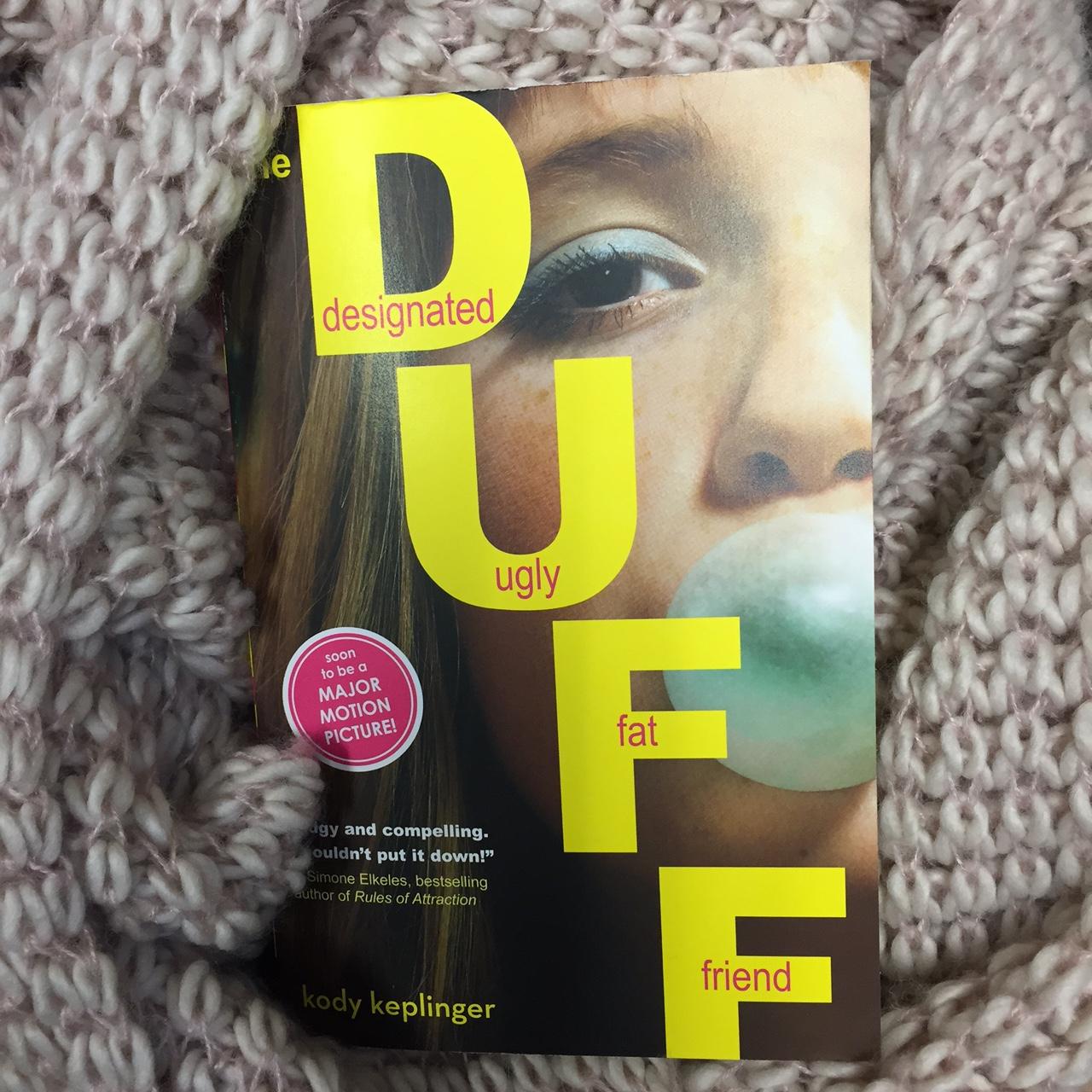 The Duff {The Designated Ugly Fat Friend}   booknerderie